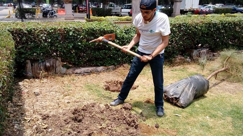 Compost-On composta en méxico