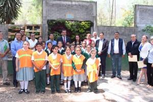 Programa Eco Escuelas SEMARNACC Morelia compost-on
