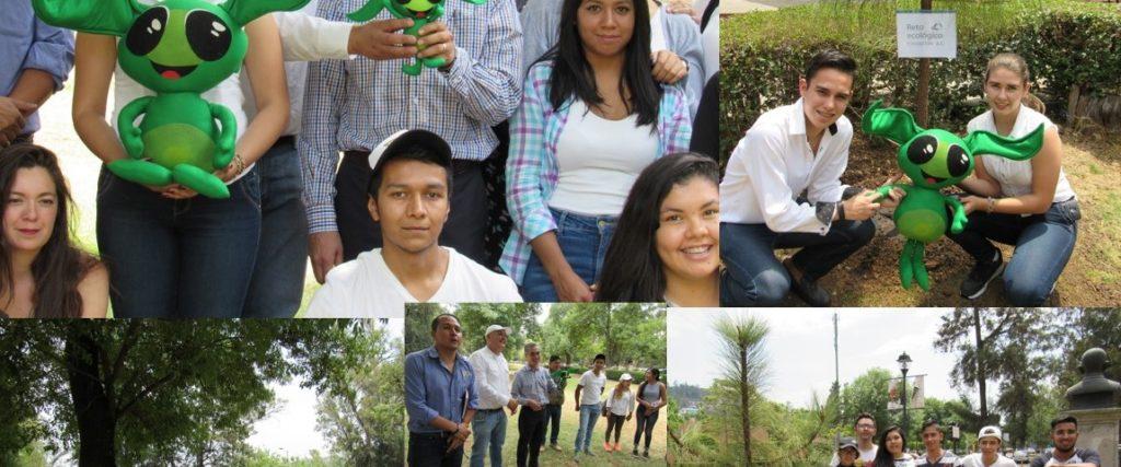 Reforestación Centro de Convenciones y Exposiciones de Morelia (CECONEXPO)