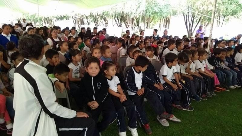 participantes feria ambiental michoacán méxico
